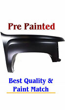 2007-2013 Chevy Silverado PAINTED TO MATCH Passenger Rt Fender w Free TOUCH UP