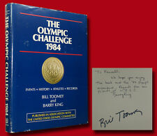 Bill Toomey and Barry King SIGNED The Olympic Challenge 1984