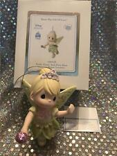 PRECIOUS MOMENTS ORNAMENT DISNEY PARKS FAITH TRUST AND PIXIE DUST TINKERBELL
