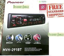 Pioneer MVH-291BT Car Stereo Media Player Bluetooth USB AUX MIC Hands Free Calls