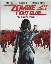 Zombie Fight Club (Blu-ray Disc, 2016) w/slipcover, NEW! Read Description