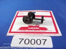 EE 70007 NEW Märklin HO AC Wheel Sets 700070 Stepped End Axle Pk2 D12/L25.2mm