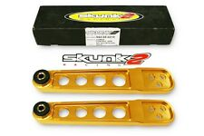 SKUNK2 Lower Control Arms Gold 02-06 Acura RSX DC5/03-08 Honda Element