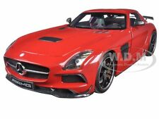 2013 MERCEDES SLS AMG BLACK SERIES RED LTD 350PCS 1/18 BY MINICHAMPS 110033022