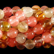 "10mm Watermelon Tourmaline Gems Round loose Bead 15"" AAA"