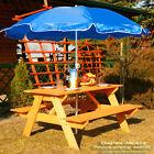 Kinderpicknicktisch Bank Kinder Picknicktisch Gartenmöbel Tisch bemalt