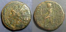 GRECE ANTIQUE -SYRIE - SÉLEUCIE ET PIÉRIE - ANTIOCHE -  UNITE - Portrait de ZEUS