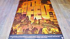 CITE EN FEU ! affiche cinema 1979