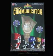 RARE Mighty Morphin Power Rangers Legacy Communicator Red Yellow Blue Black