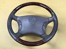 Mercedes W220 S500 L '03 (1998-2005) MULTIFUNCTION WOOD STEERING WHEEL & AIR BAG