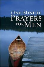 One-Minute Prayers for Men by Harvest House Publishers (2010, Hardcover, Gift)