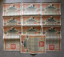 China 1913 Chinese Reorganisation Gold Loan Bonds £20 NOT Super Petchili, Farmer