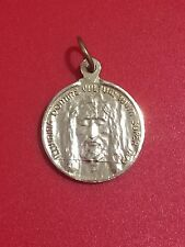 Holy Face of Jesus gold tone Holy Medal 7191