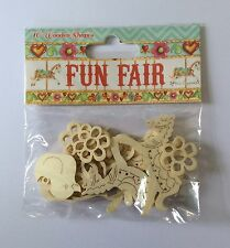 Fun Fair Wooden Elements by Helz Cuppleditch