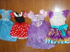 GIRL DRESS UP PLAY PRETEND COSTUMES  PRINCESS DISNEY LOT  YOUTH SIZE 7-8