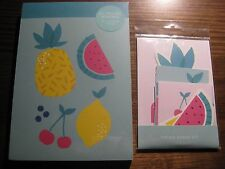 KIKKI K NOTEPAD + VISION BOARD SET CUTE DESIGN - Great for planner diary wall