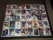 Lot of 80 Edmonton Oilers cards- Kurri, Messier, Lowe, Fuhr, Anderson  ++