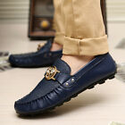 New Fashion Men's Flats Driving Moccasin Loafer Casual Classic Slip On Shoes *25