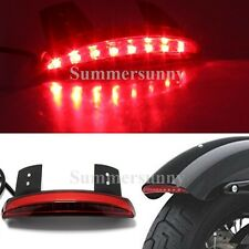 otorcycle Bike LED Stop Brake License Plate Rear Tail Light FOR Harley XL 883 W/