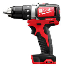 "Milwaukee 2701-20 M18 18V 1/2"" Compact Brushless Drill/Driver - Bare Tool"