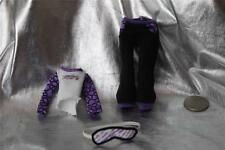 Monster High 1st First Wave Dead Tired Clawdeen Wolf Doll - Pajamas & Mask #1461