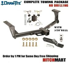 "CLASS 3 TRAILER HITCH PACKAGE FOR 2015-2016 NISSAN MURANO AWD 1 7/8"" BALL 75952"