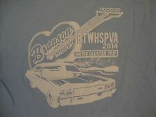 Branson Missouri BTWHSPVA 2014 Music Cluster Trip Old Time Light Blue T Shirt L