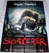 SORCERER - DiRECTOR'S CUT William Friedkin Roy Scheider LARGE French POSTER