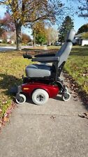 Invacare Pronto M51 Motorized Wheelchair with batteries, charger, and manual