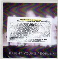 (FL91) Bright Young People, Liberties - DJ CD