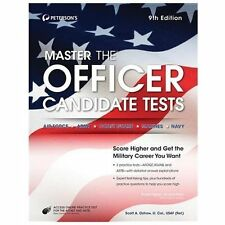 Master the Officer Candidate Tests, Peterson's