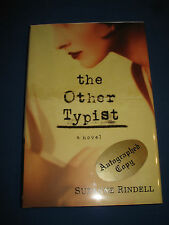 The Other Typist by Suzanne Rindell SIGNED 1st/1st 2013 HCDJ
