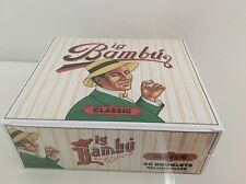 New BIG BAMBU Cigarette Paper 50 Packs Booklets Natural Glue