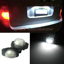 2x Exact Fit White LED License Plate Light Lamps For selected Toyota Scion #PL5