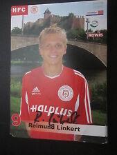 19691 Reimund linkert HFC 2004 - 2005 originale con firma autografo cartolina