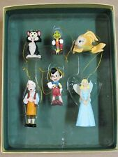 Disney Pinocchio Christmas Collection Ornaments Set of 6