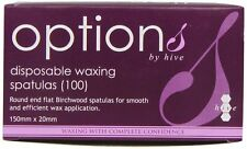 OPTIONS DISPOSABLE WAXING SPATULAS PACK 100