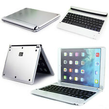 Thin Smart Cover Wireless Bluetooth Keyboard Folios Stand Case For iPad 6 Air 2