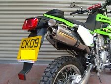 Kawasaki KLX250S 2009' -2014'   Stainless Oval Road Legal MTC Exhaust