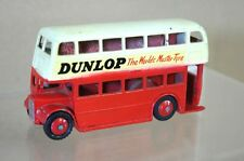 DINKY 290 LONDON TRANSPORT DOUBLE DECKER BUS DUNLOP RESTORED mv