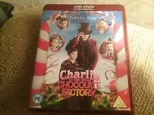 CHARLIE AND THE CHOCOLATE FACTORY, NEEDS A HD DVD PLAYER TO USE, FREE UK POSTAGE