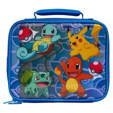 Pokemon Pikachu, Evee, Charmander Insulated Lunch Box/Bag