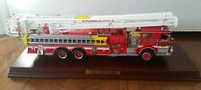 Franklin mint Pierce Snorkel Fire Truck Scale model 1:32  Rare