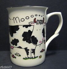 Cow Moooo Fine Bone China Mug Cup Beaker (also comes in sheep & pig)