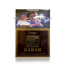 Gudang Garam Surya 16 Kretek Filter Lots of 7 Packs
