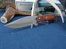 "9"" Bush Hog Full Tang Fixed Blade Hunting Knife"