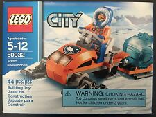 LEGO TOY CITY 60032 Arctic Snowmobile NISB