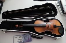 Scherl & Roth  Violin 4/4 Outfit with Case 2-Bows William Lewis&Sons WL46E4CH