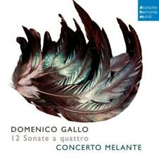 Domenico Gallo: 12 Sonate A Quattro - Concerto Melante (2015, CD NEU)