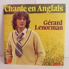 GERARD LENORMAN Chante en anglais 49445